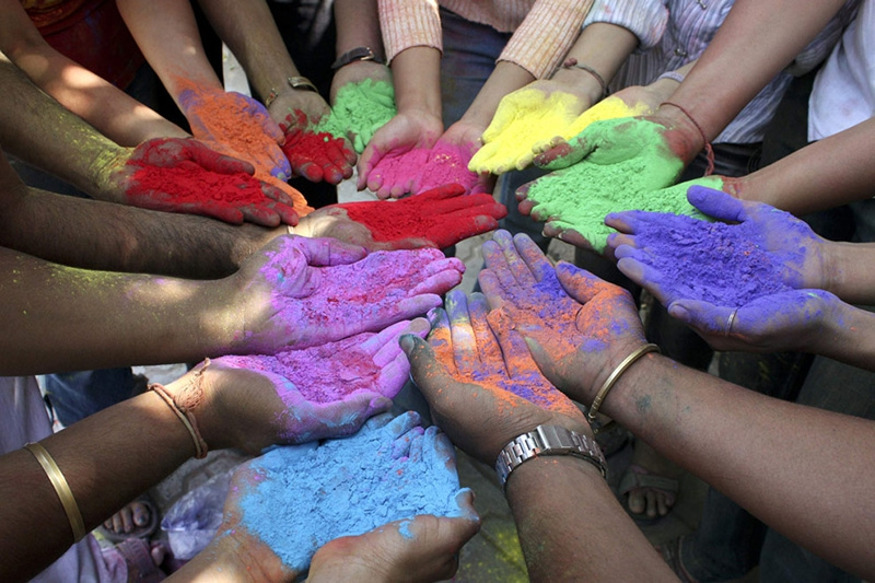 Holi : Festival of Colours !!!